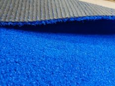Roll of Blue Artificial Grass | Approximate size: 4m x 3m