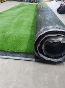 Roll of Green Artificial Grass | Approximate size: 4m x 3m