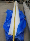 Roll of 1mm White Underlay   Approximate size: 3m x 50m   PLEASE SEE PHOTOS FOR DAMAGE