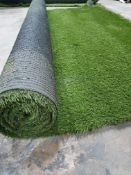 Roll of Green Artificial Grass | Approximate size: 2m x 2.3m