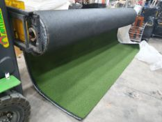 Roll of Green Artifical Grass | Approximate size: 4m x 30m