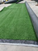 Roll of Green Artificial Grass | Approximate size: 4m x 2m