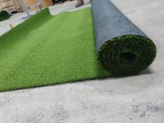 Roll of Green Artificial Grass | Approximate size: 1.7m x 2.6m