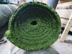 Roll of Green Artificial Grass | Approximate size: 1.8m x 2.9m