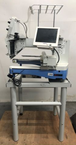 Online Auction | Happy Japan HCD2-1501 Embroidery Machine | Mimaki CJV150 Rollover Table Printer/Cutter |  Format Printers