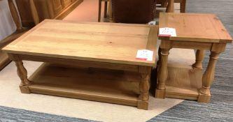 Ex Display Bentley Designs Westbury Coffee Table - Rustic Oak - RRP£449