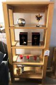 Ex Display Willis & Gambier Maze Glazed Shelving Unit - RRP£1,195