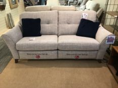 Ex Display G Plan Hatton 3 Seater Sofa & Chair - Beach Oatmeal - RRP£3,569