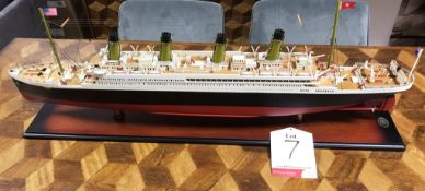 Ex Display Authentic Models AS083 Titanic Model - RRP£600