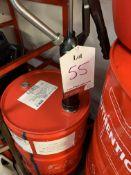 Drum of motorcycle engine oil