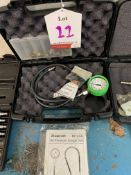 Snap on diagnostic gauge set oil pressure gauge