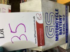 GS Motorcycle battery