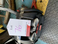 Jump starter & tyre inflater