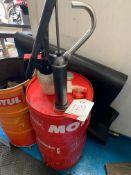 Oil pump & drum