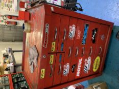 Mobile tool cabinet & contents
