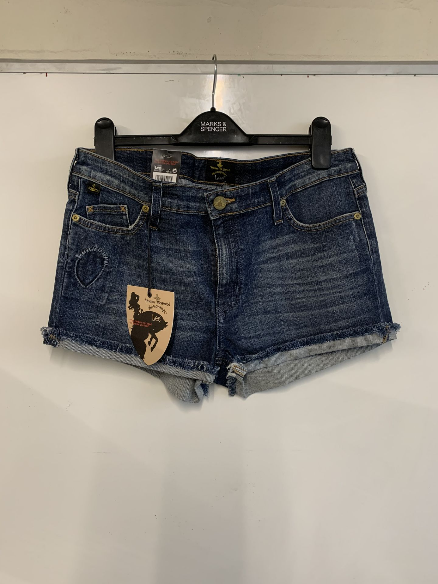 Lot 48 - Vivienne Westwood Anglomania lovelock shorts
