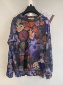 Paul smith floral print long sleeved top