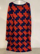 Diane von Furstenberg long sleeved dress