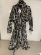 Topshop Gingham Trench Coat | RRP £54.99