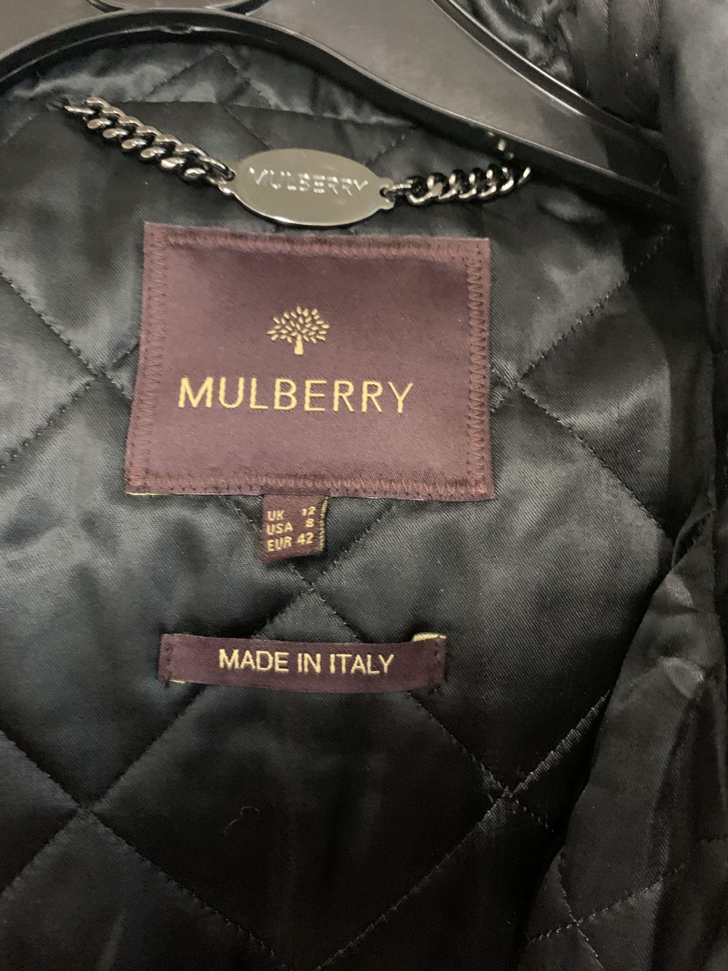 Lot 60 - Mulberry women's wintert coat