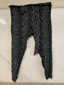 Vivienne Westwood Anglomania Women's New Kung Fu Leopard-print Trousers