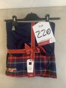 Online Exclusive Navy & Red Check Pyjama Set | RRP £25.00