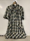 Jaeger women's chequered cotton shirt