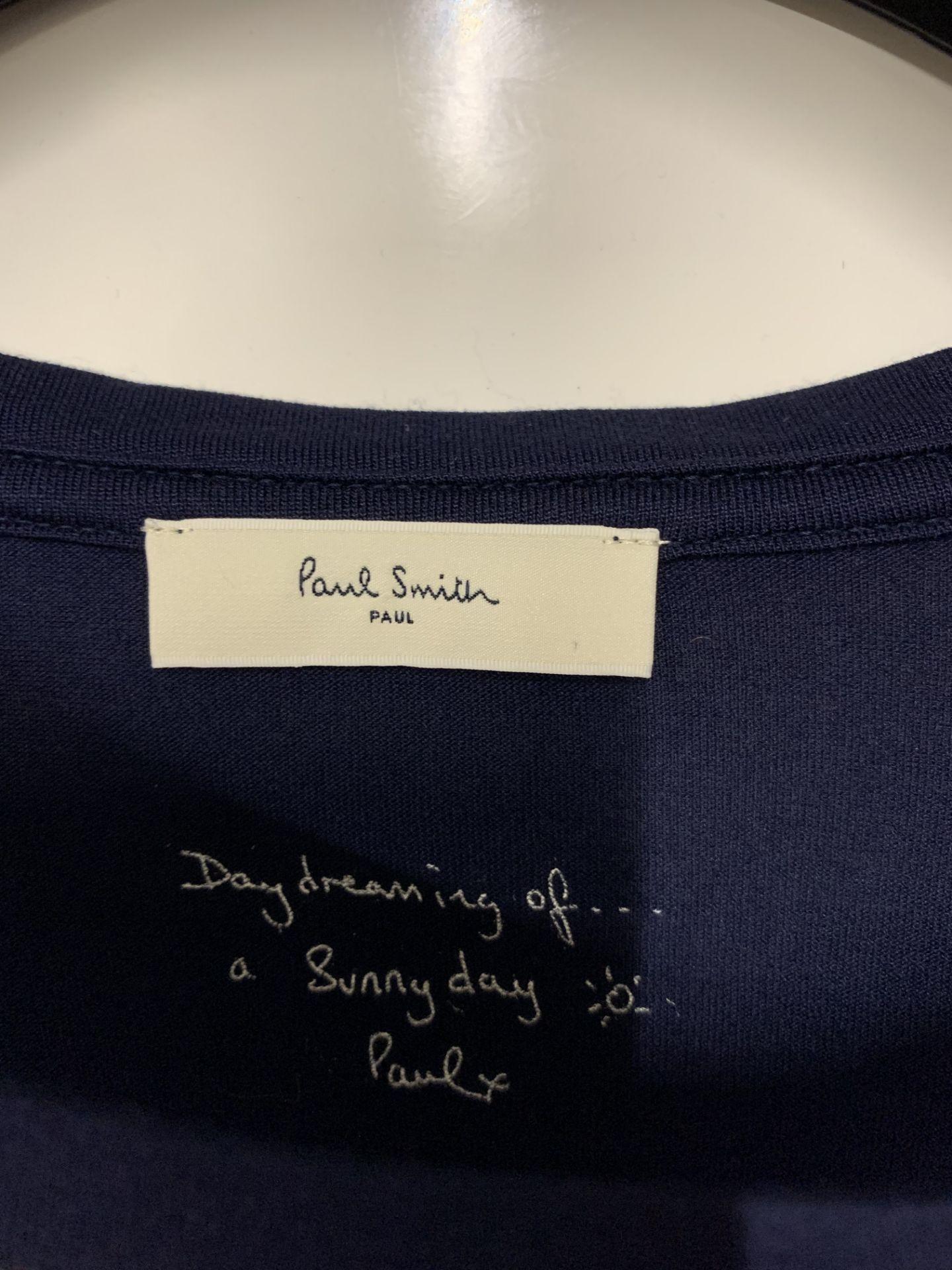 Lot 33 - Paul by Paul Smith Women's Printed Poppy T-Shirt - Black/Multi