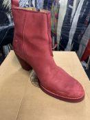 Acne Studios Women's Heeled Pistol Boots