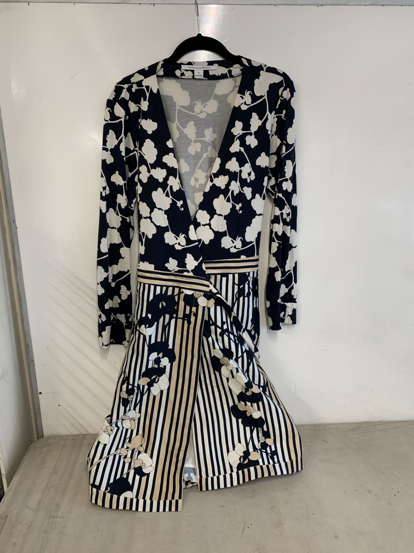 Lot 2 - diane von Furstenberg wrap dress | RRP £218.00