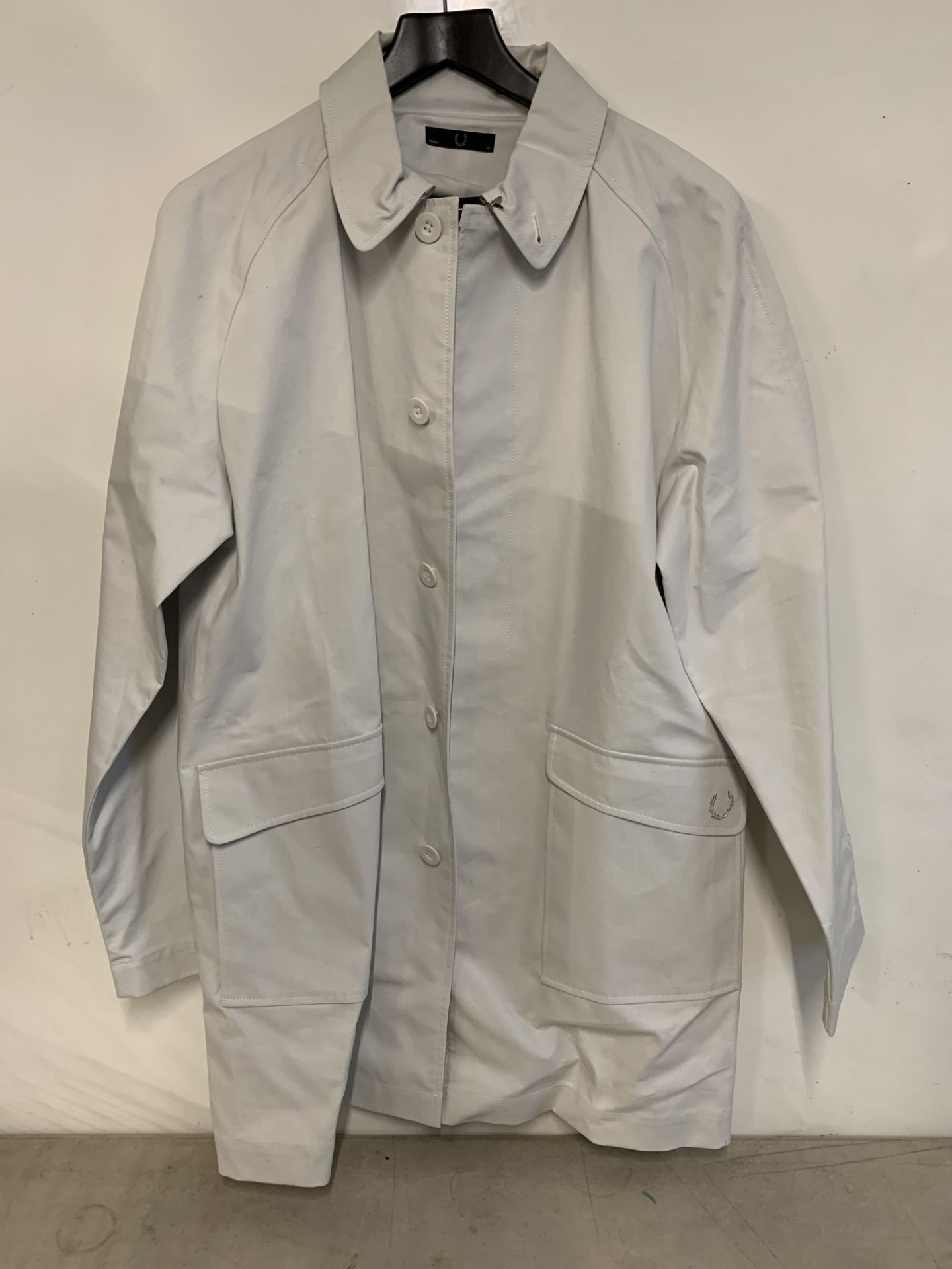 Lot 47 - Fred perry unisex bonded raincoat | RRP £275.00