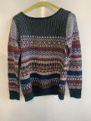 Boutique women's wool jumper