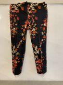 J K Bennett floral trousers | RRP £155.00
