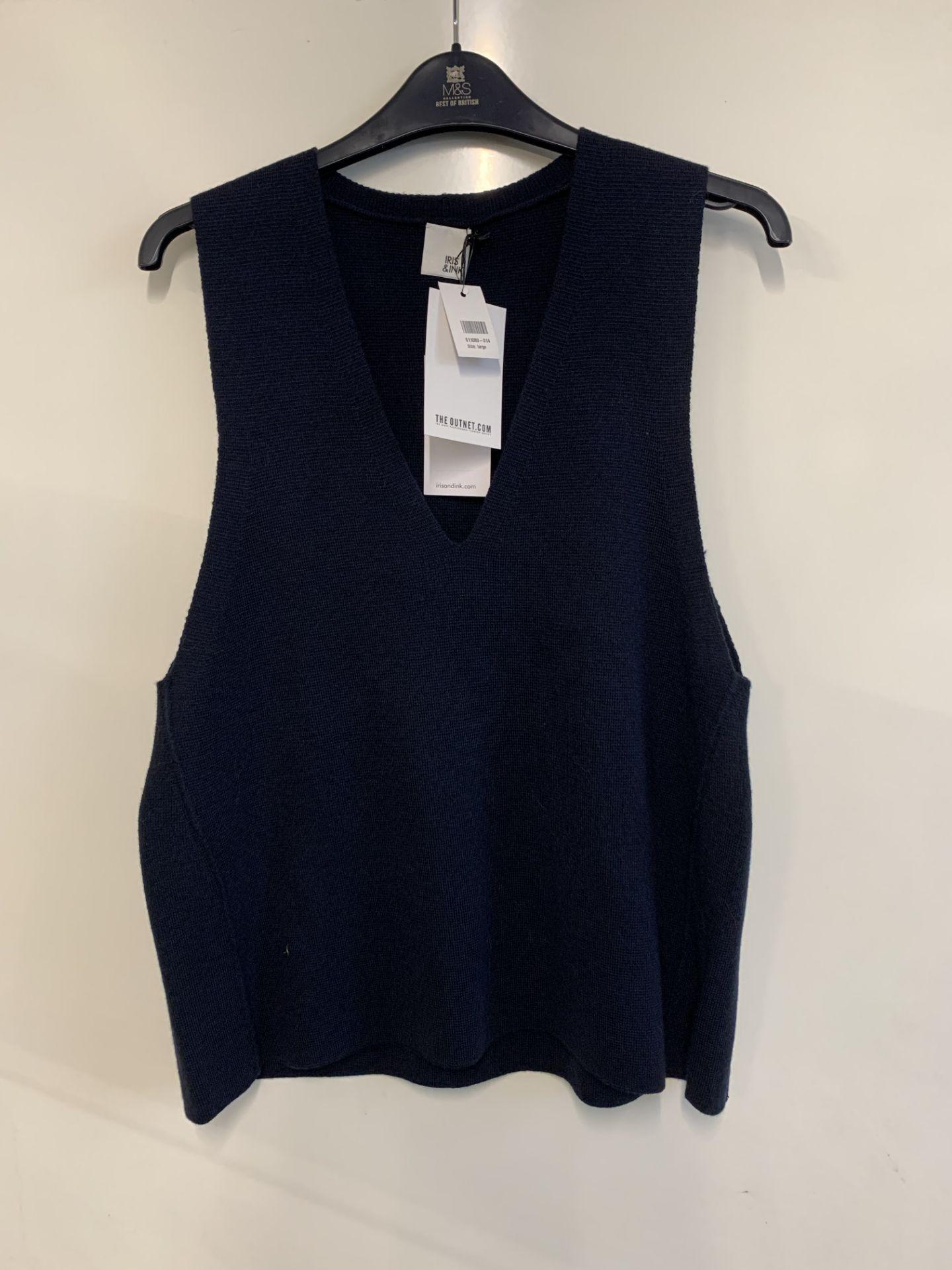 Lot 58 - Iris & Ink women's Lucia Milano Wool Tank | RRP £25.00