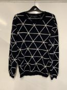 All Over Triangle Sweater by Chinti + Parker / Paternity