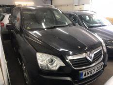 Vauxhall Antara SE CDTI A | Reg: AV57 ZGN | Mileage: 110,000