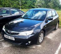 Subaru Impreza | Reg: DA09 ZZX | Mileage: 115,398