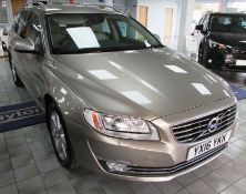 Volvo V70 2.0 D3 SE Lux Geartronic | Reg: YX16 YKK | Mileage: 34,000 | Forecourt Price: œ14,990