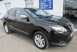 Nissan Qashqai 1.2 DIG-T N-Connecta (Exec) 5dr | Reg: CY16 SWZ | Mileage: 47,000 | Forecourt Price: