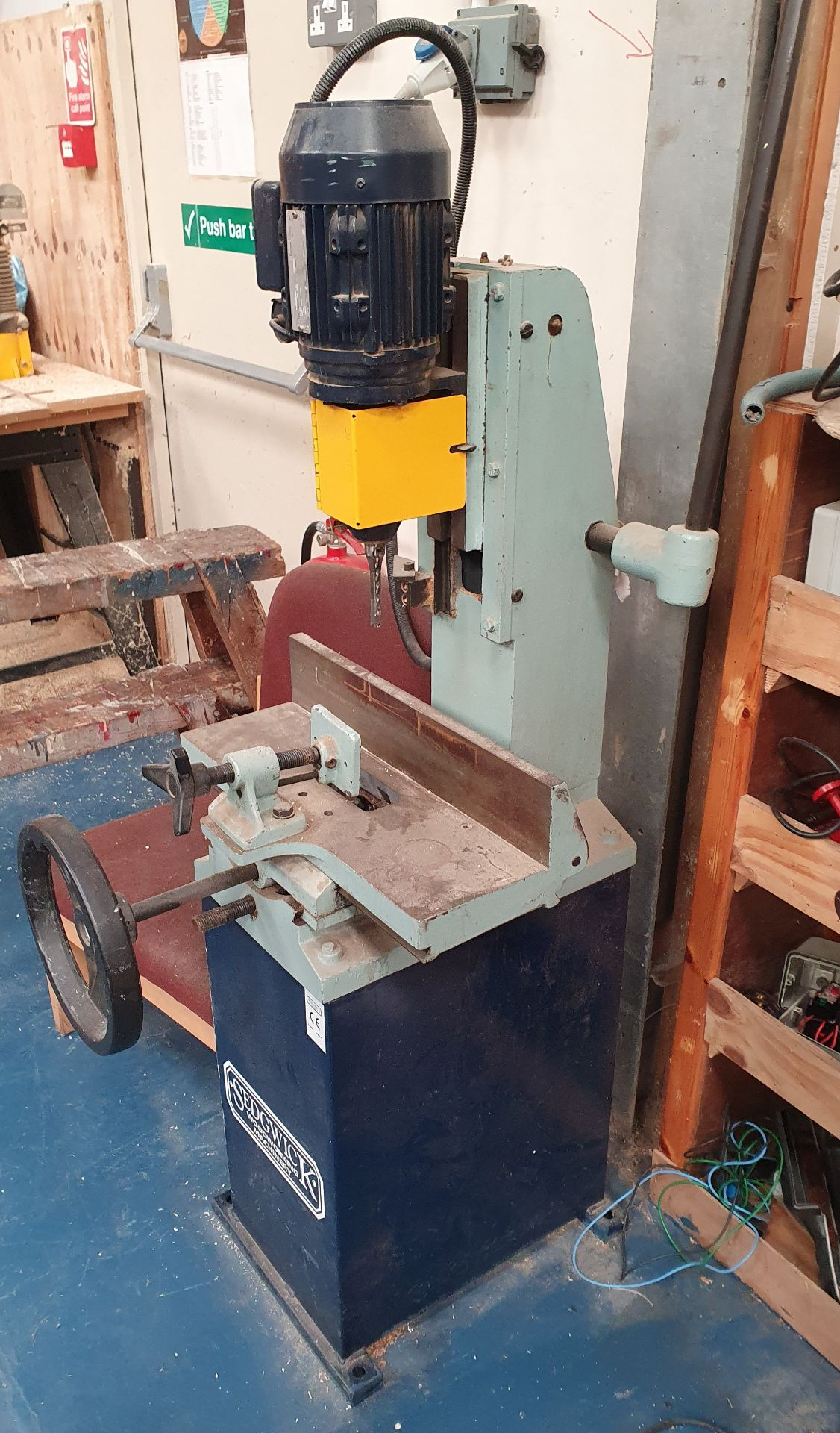 Lot 9 - Sedgework Machinery Morticer