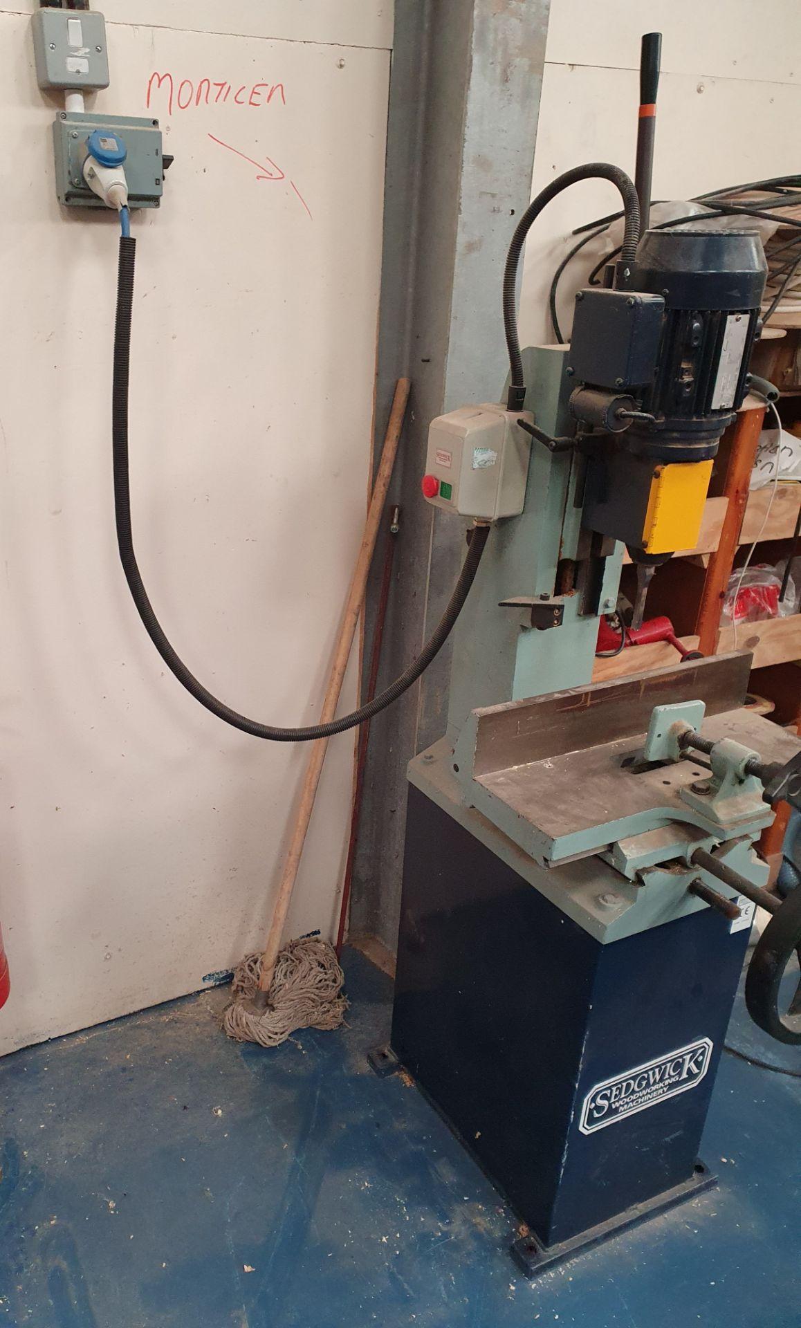 Lot 9 - Sedgework Machinery Morticer