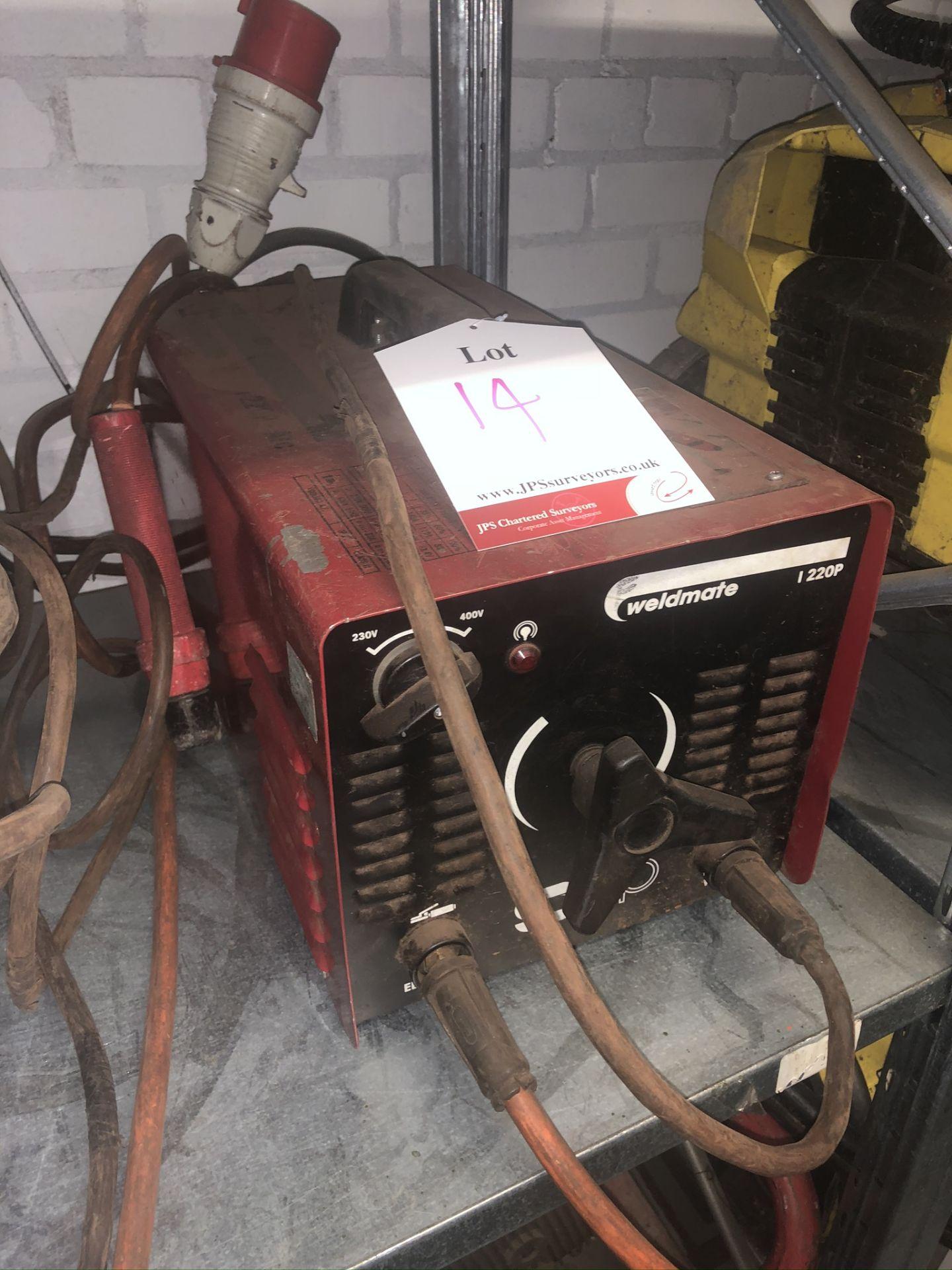 Lot 14 - SIP Weldmate 220p Inverter Welder