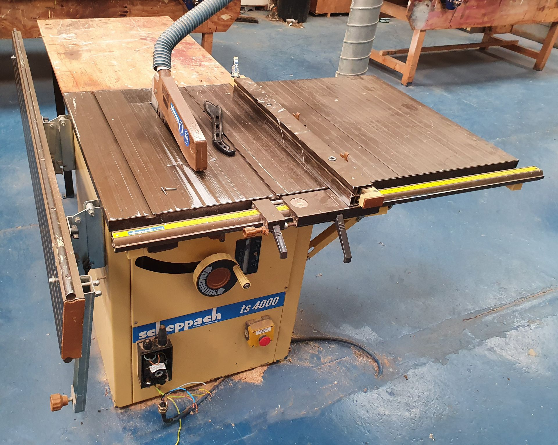 Lot 10 - Scheppach TS4000 Table Saw