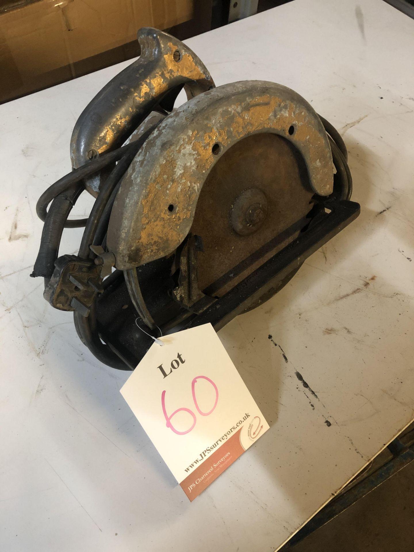 Lot 60 - Unbranded Circular Saw