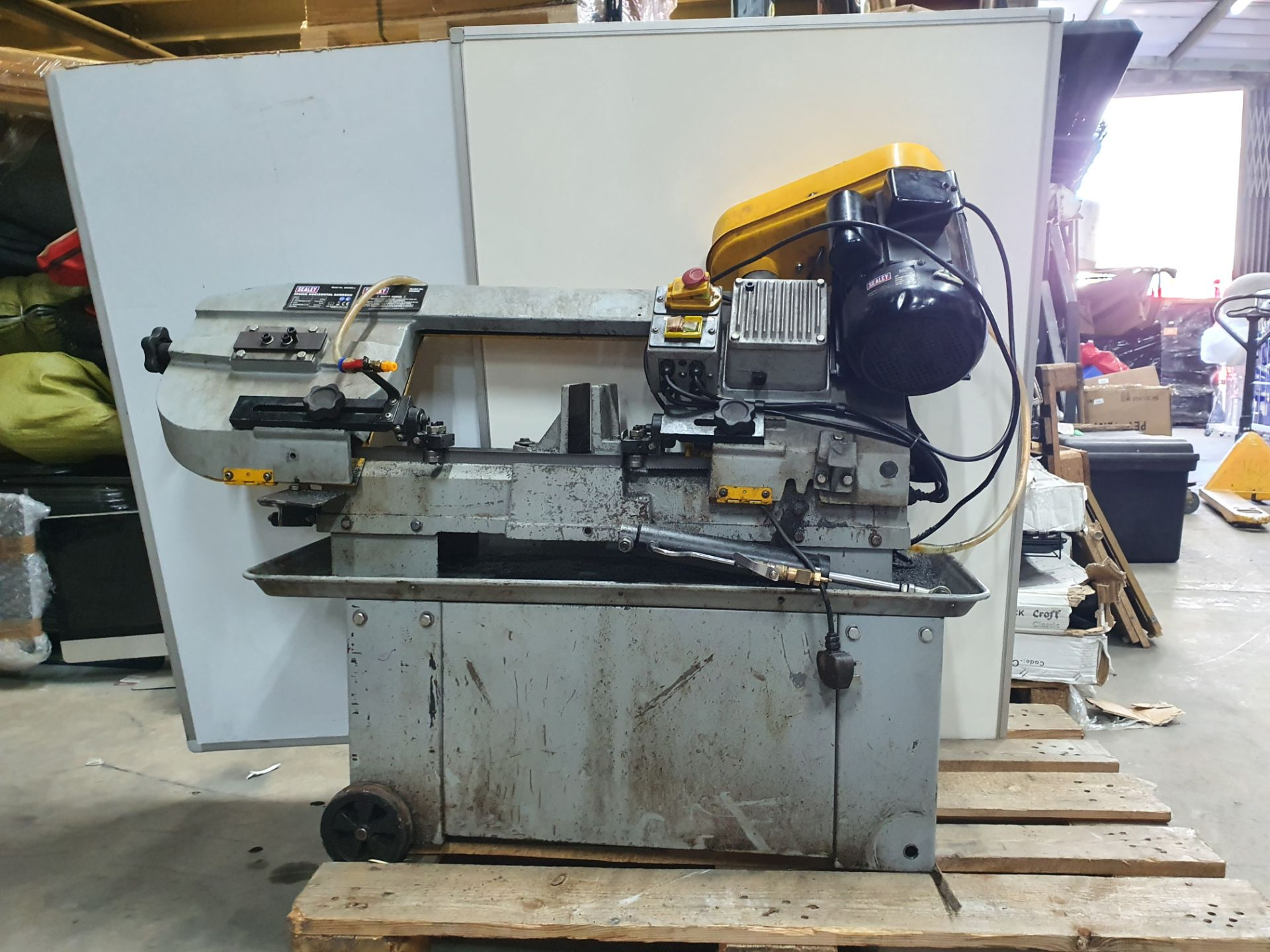 Lot 3 - Sealey SM35CE 300mm Horizontal Bandsaw