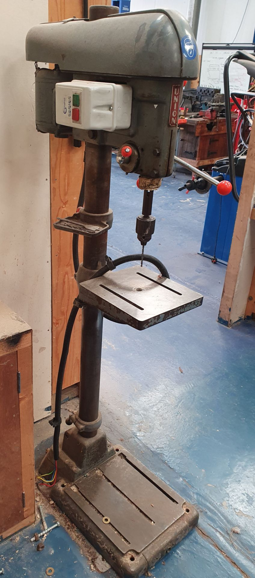 Lot 6 - Union Floor Standing Pillar Drill