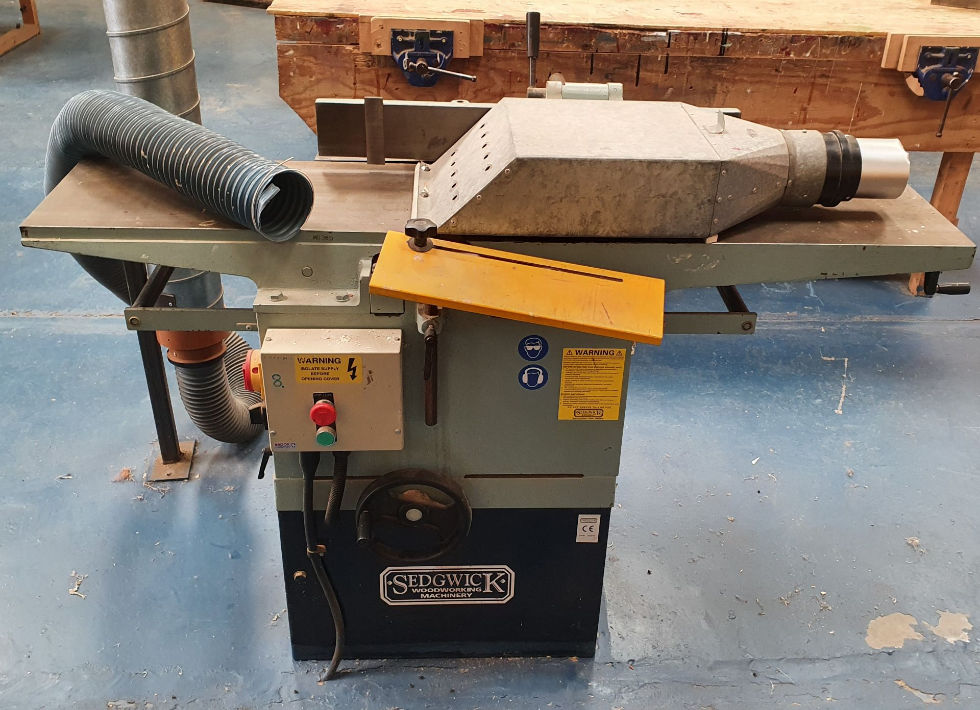 Lot 8 - Sedgework Machinery Planer Thicknesser