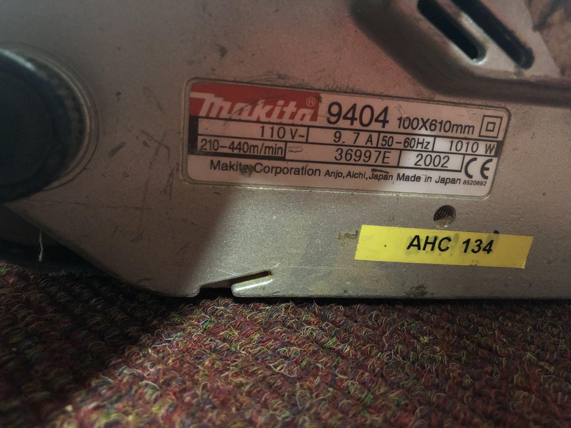 Lot 97 - Makita 9404 Belt Sander