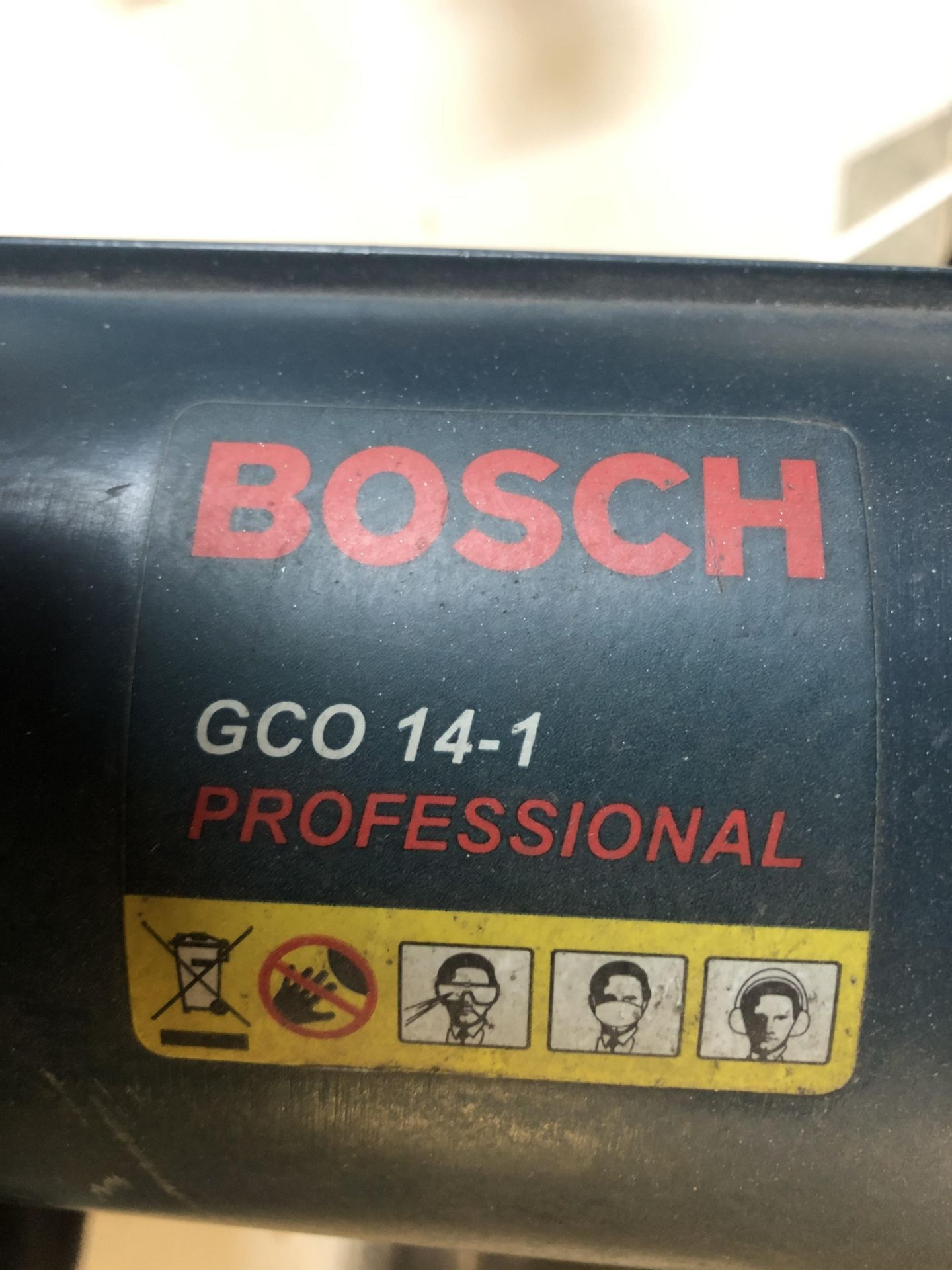 Lot 52 - Bosch GCO 14-1 Portable Cut-Off Saw