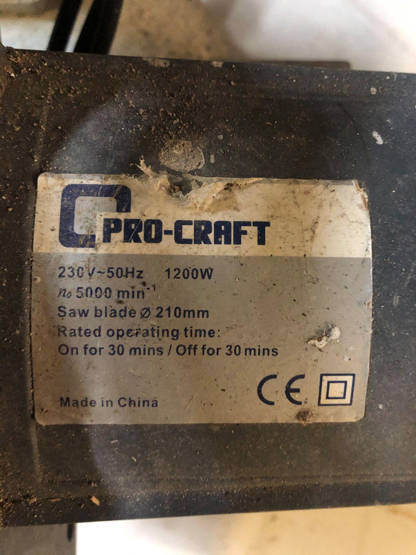 Lot 59 - ProCraft Circular Saw